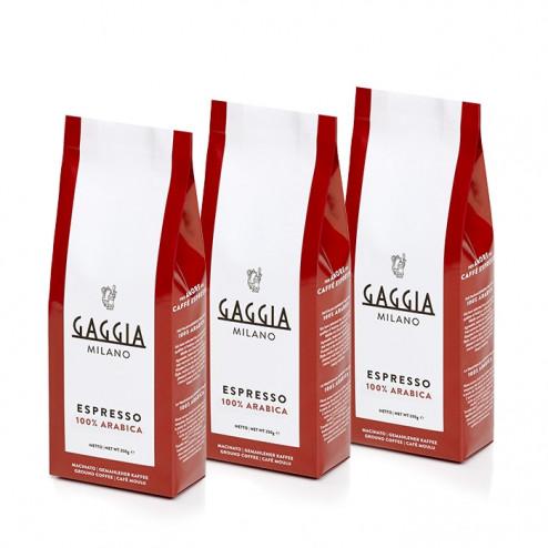 Gaggia Malt Kaffe 3 x 250 gr