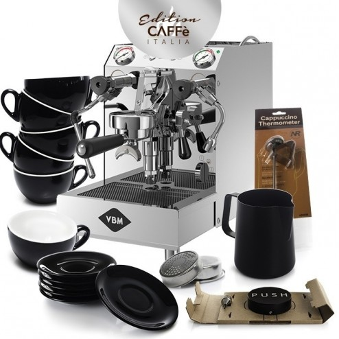 Vibiemme Domobar Super 2B PID & Caffè Italia Kit Edition 3