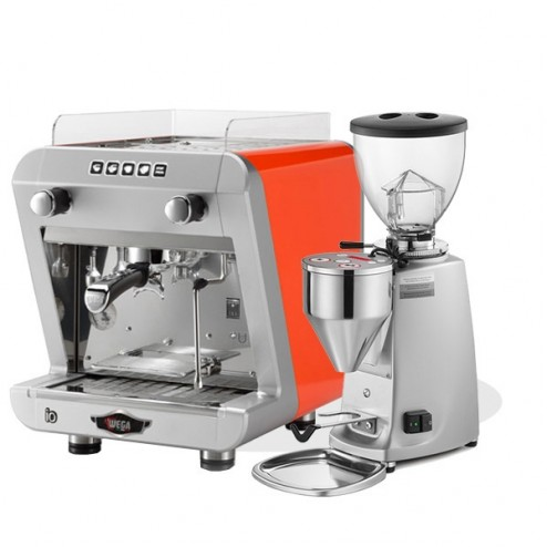 Wega IO EVD/1 & Mazzer Mini Electronic Model A