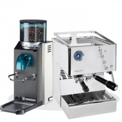 Quick Mill Evolution 70 3140 & Rancilio Rocky SD
