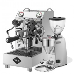Vibiemme Domobar Junior 2B & Mazzer Mini Electronic Model A