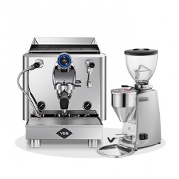 Vibiemme Lollo Halvautomatisk 1G & Mazzer Mini Electronic Model A